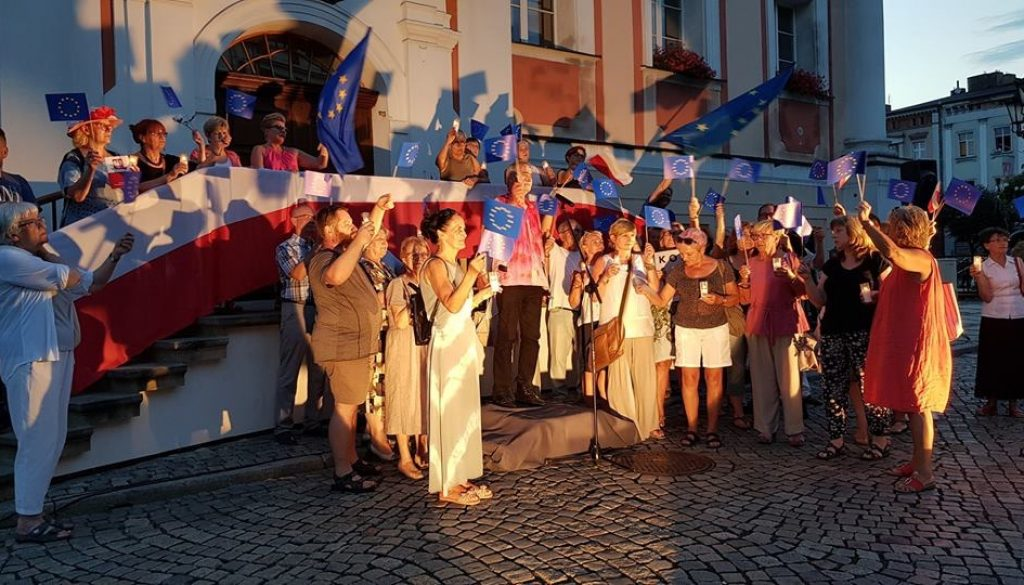28 lipca 2018 roku - Leszno - Ratusz - Olgierd Łukaszewicz - Konstytucja dla Europy z 1831 roku.